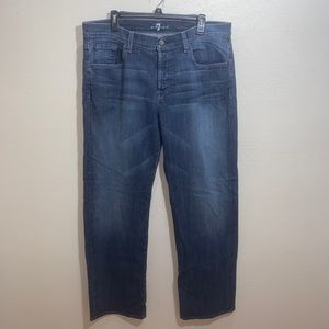 Men's 7 for all mankind relaxed denim jeans Sz 38